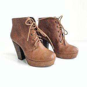Steve Madden Raspy Lace up booties
